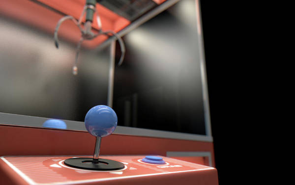 Claws Digital Art - Claw Arcade Game by Allan Swart