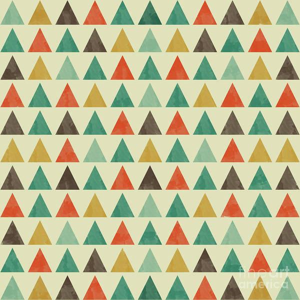 Wall Art - Digital Art - Colorful Geometric Background by Amir Faysal