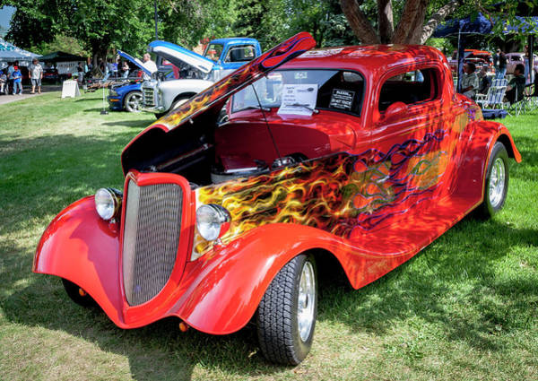 Lethbridge Photograph - Custom Car by Mike Fitton