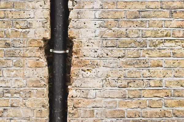 Grating Wall Art - Photograph - Drainpipe by Tom Gowanlock