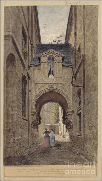 Clovis Painting - Drawn To Paris by Celestial Images