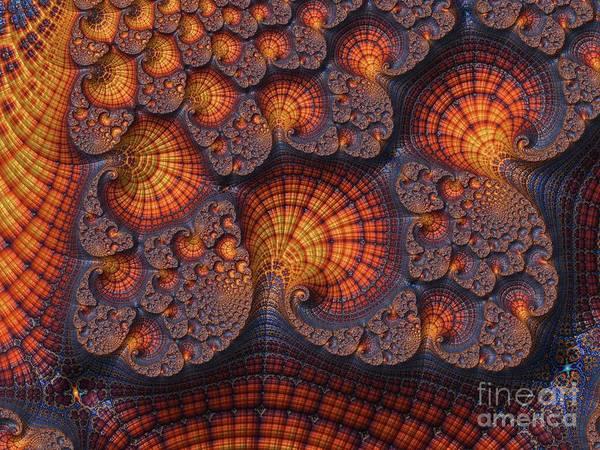 Kaleidoscope Wall Art - Digital Art - Fractal, Pattern, Kaleidoscope, Art by Raphael Terra