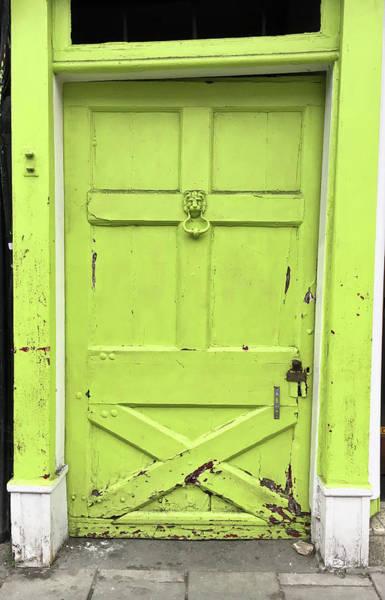 Wall Art - Photograph - Green Door by Tom Gowanlock