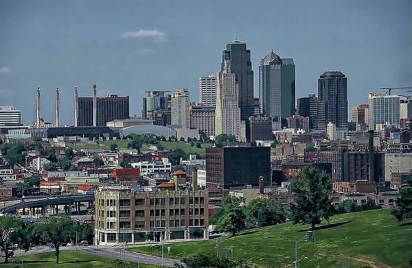 Photograph - Kansas City Skyline by Anthony Dezenzio