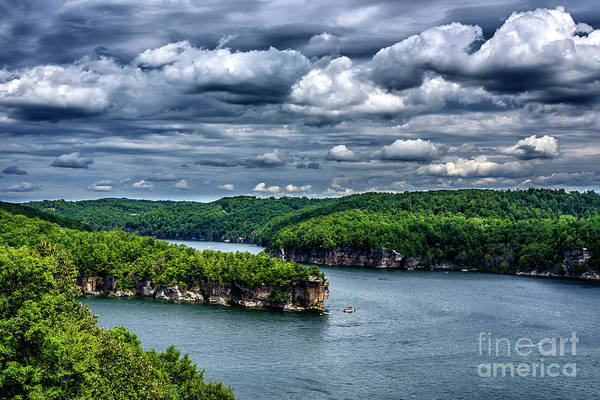 Photograph - Long Point Summersville Lake by Thomas R Fletcher