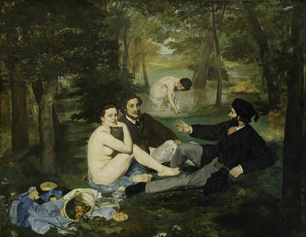 Painting - Luncheon On The Grass by Edouard Manet