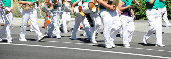 Wall Art - Photograph - Marching Band. by Oscar Williams