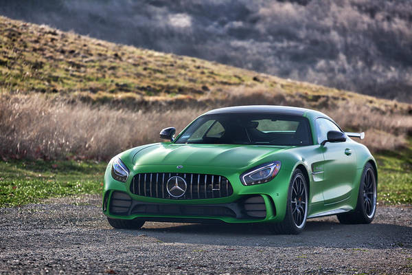 Photograph - #mercedes #amg #gtr #print by ItzKirb Photography