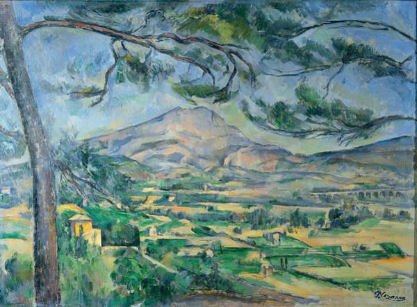 Painting - Mont Sainte Victoire by Paul Cezanne
