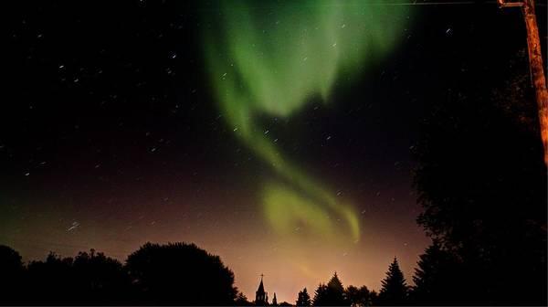 Photograph - Northern Lights by David Matthews