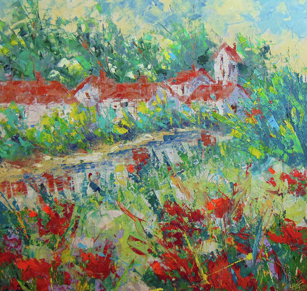 Painting - Provence by Frederic Payet