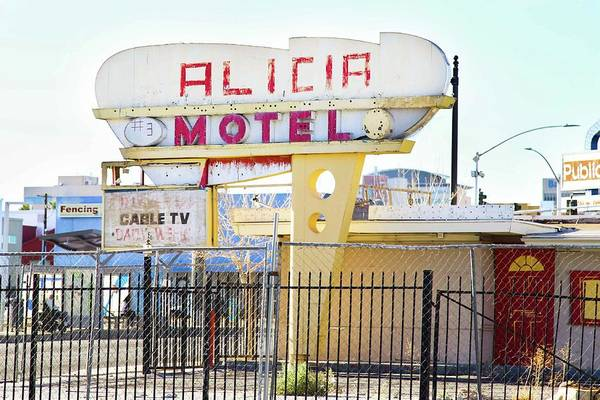 Photograph - Remnants Of Vintage Vegas by Brandy Little