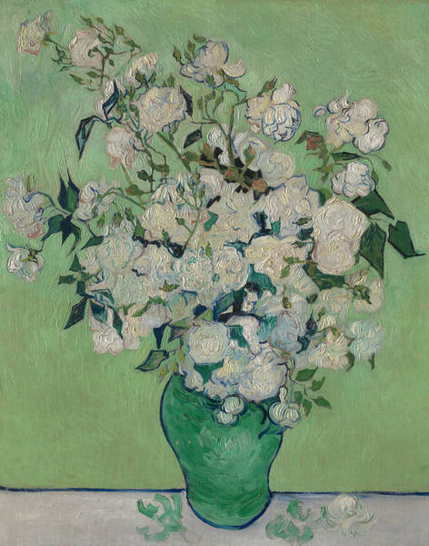 Painting - Roses by Vincent van Gogh