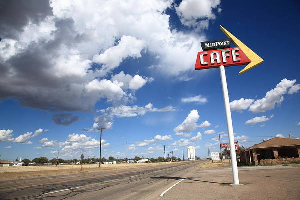 Wall Art - Photograph - Route 66 Cafe by Frank Romeo