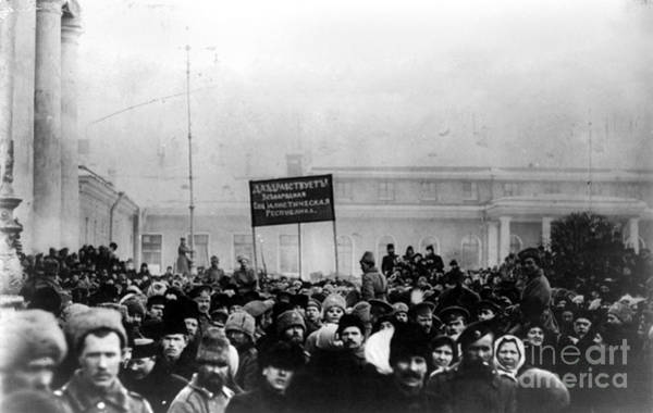 Photograph - Russian Revolution, 1917 by Granger