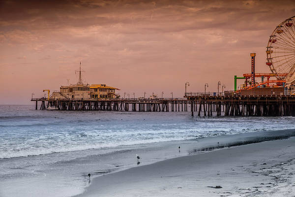 Photograph - Santa Monica Pier Collection- 13/36 by Gene Parks