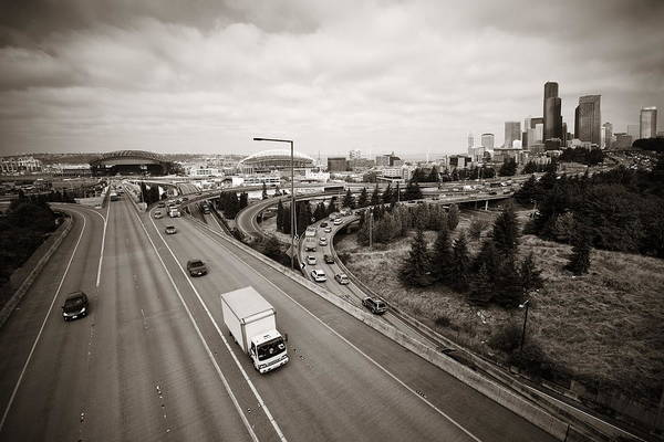 Photograph - Seattle by Songquan Deng