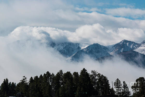 Photograph - Storm Clouds On Pikes Peak by Steve Krull