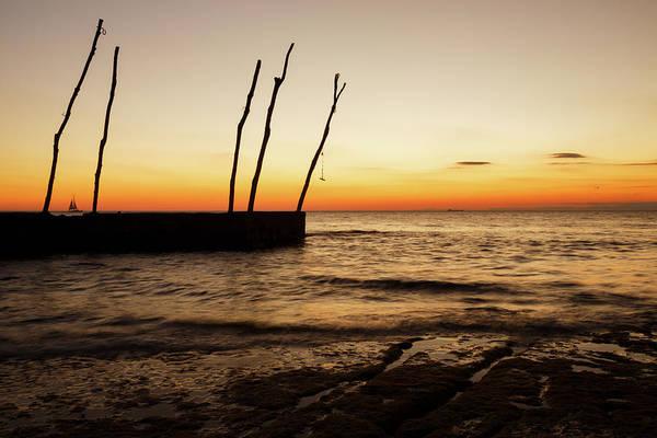 Wall Art - Photograph - Sunset At Basanija by Ian Middleton