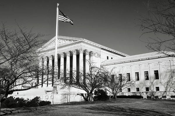 Photograph - Supreme Court Building by Brandon Bourdages