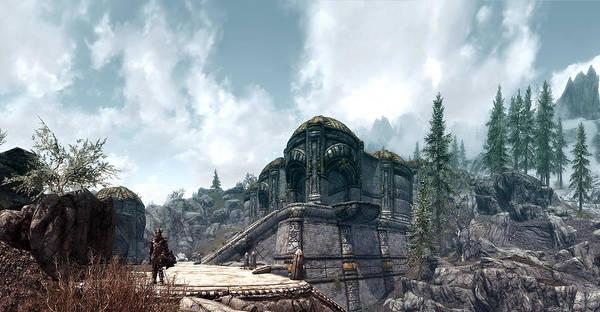 Fantasy Digital Art - The Elder Scrolls V Skyrim by Super Lovely