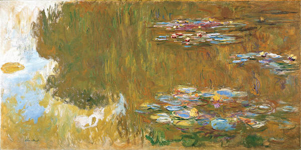 Wall Art - Painting - The Water-lily Pond by Claude Monet