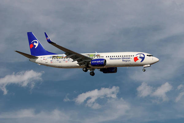 Service Photograph - Travel Service Boeing 737-8cx by Smart Aviation