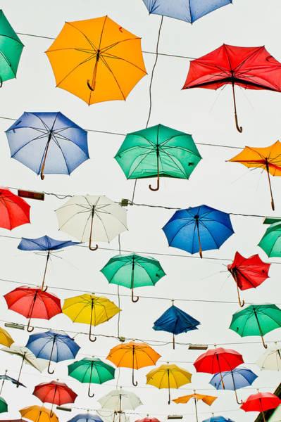 Wall Art - Photograph - Umbrellas by Tom Gowanlock