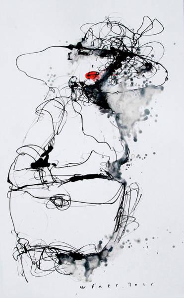 Wall Art - Drawing - 9 by Viktor Sheleg