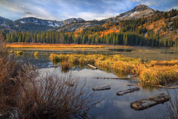 Wall Art - Photograph - Wasatch Mountains by Douglas Pulsipher