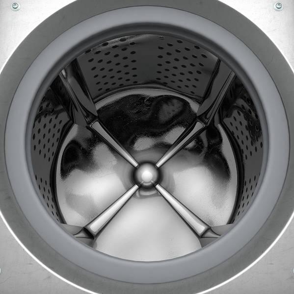Dirty Laundry Digital Art - Washing Machine Drum by Allan Swart