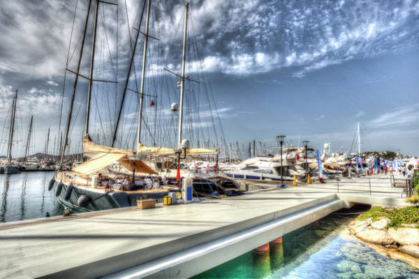 Wall Art - Photograph - Yalikavak Marina Bodrum by David Pyatt