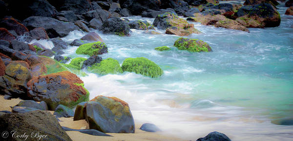Wall Art - Photograph - Maui Shoreline by Corky Byer