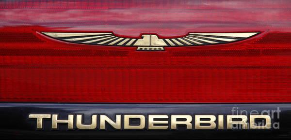 Photograph - 90s Thunderbird by Richard Lynch