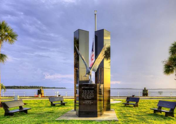 Wall Art - Photograph - 911 Memorial by JC Findley
