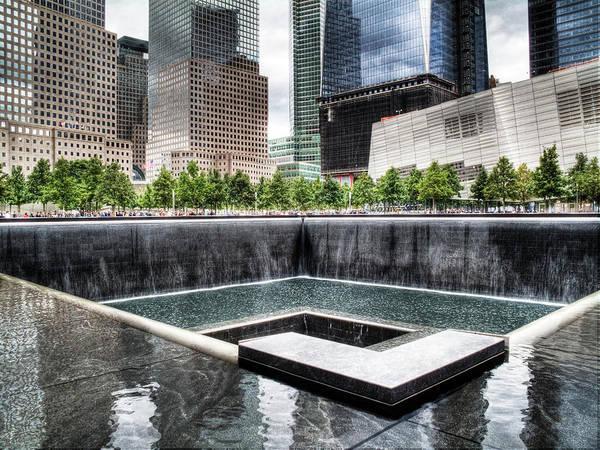 Wall Art - Photograph - 911 Memorial by Joe  Palermo