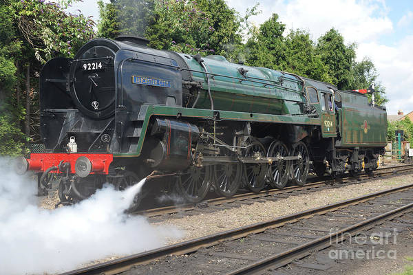 Photograph - 92214 Leicester City by David Birchall