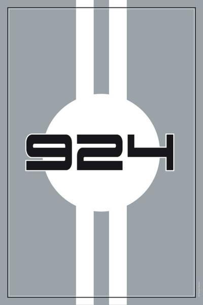 Wall Art - Digital Art - 924 Racing Design by Theodor Decker