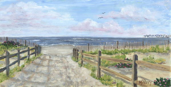 Ocean City Painting - 92nd Street by Margie Perry