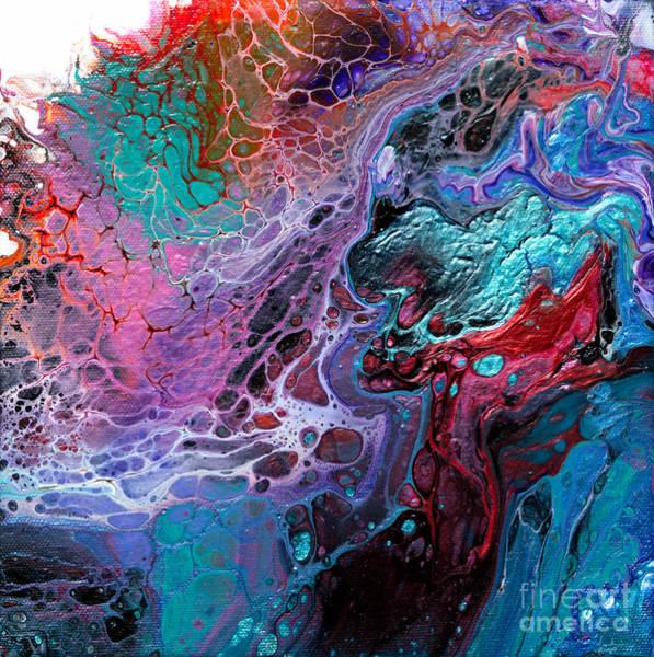 Dominate Painting - #933 Dragons Clash by Expressionistart studio Priscilla Batzell