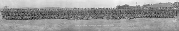 Us Marines Photograph - 96th Co, 6th Regiment, Usmc Quantico by Fred Schutz Collection