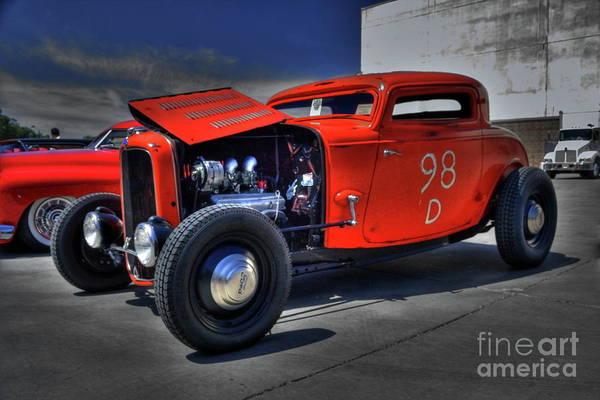 Photograph - 1932 Ford by Tony Baca