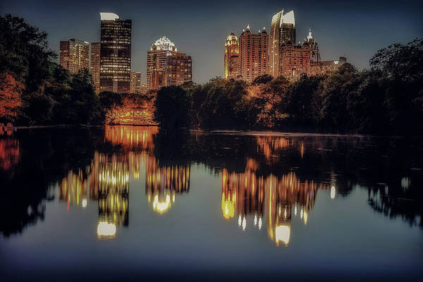 Photograph - 9pm In Atlanta by Mike Dunn