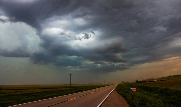 Photograph - 9th Storm Chase 2015 016 by NebraskaSC