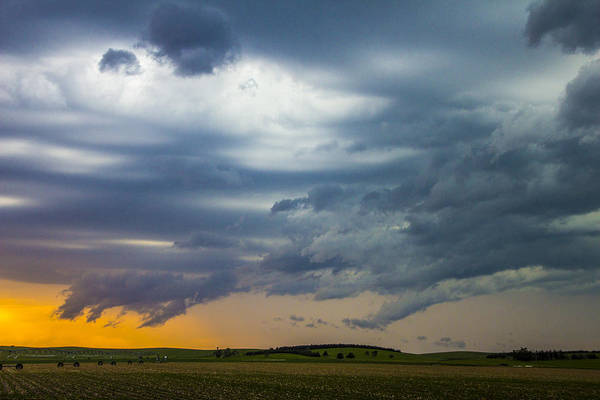 Photograph - 9th Storm Chase 2015 026 by NebraskaSC