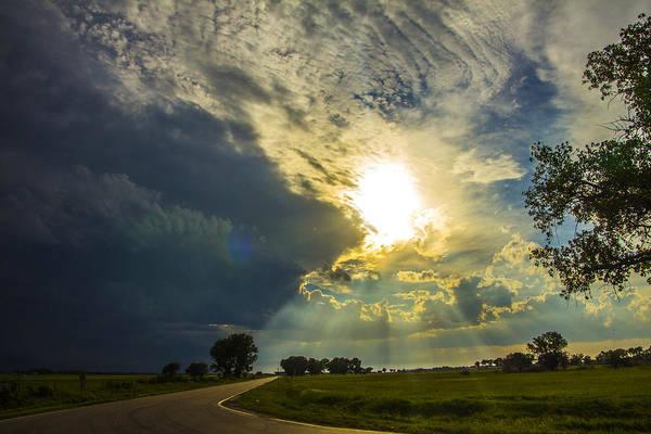 Photograph - 9th Storm Chase 2015 064 by NebraskaSC