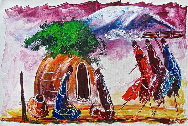 Painting - A 14 by Atanas