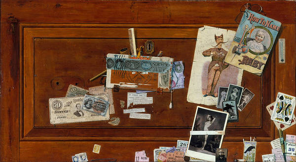 Drawers Painting - A Bachelor's Drawer by John Haberle