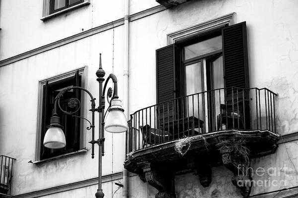 Photograph - A Balcony In Sorrento by John Rizzuto