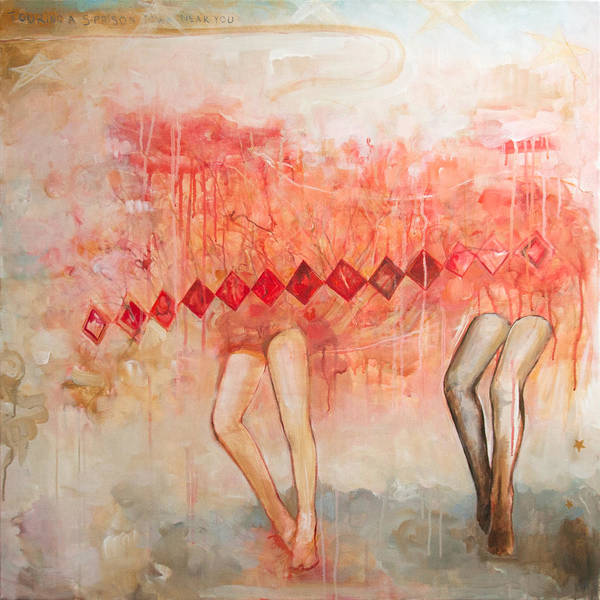 Contemporary Wall Art - Painting - a band called My Little Pony by Sandra Cohen